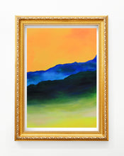 Load image into Gallery viewer, Here Comes the Sun Gold Frame Wall