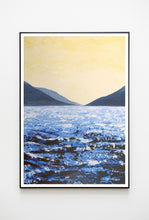 Load image into Gallery viewer, Lough Corrib South Lake | Giclée Print 70x50cm by Orfhlaith Egan | A Soft Day