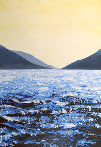 Lough Corrib South Lake Original Painting by Orfhlaith Egan | A Soft Day