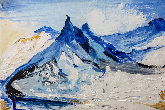 The Matterhorn Giclee Print by Orfhlaith Egan. Variants available. Featured on the cover of Mountains and the German Mind Translations from Gessner to Messner 1541-2009 Edited by Sean Ireton, Caroline Schaumann	2020