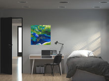 Load image into Gallery viewer, Morrigan's Forest Original Painting Bedroom View