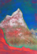 Load image into Gallery viewer, Painting | Alpine Pink Matterhorn by Orfhlaith Egan | A Soft Day