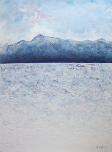 Blue Mountain Lake Giclee Print by Orfhlaith Egan. Various Sizes available at A Soft Day