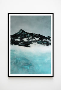 Painting | Lake in Winter by Orfhlaith Egan | A Soft Day | Interior Wall Art
