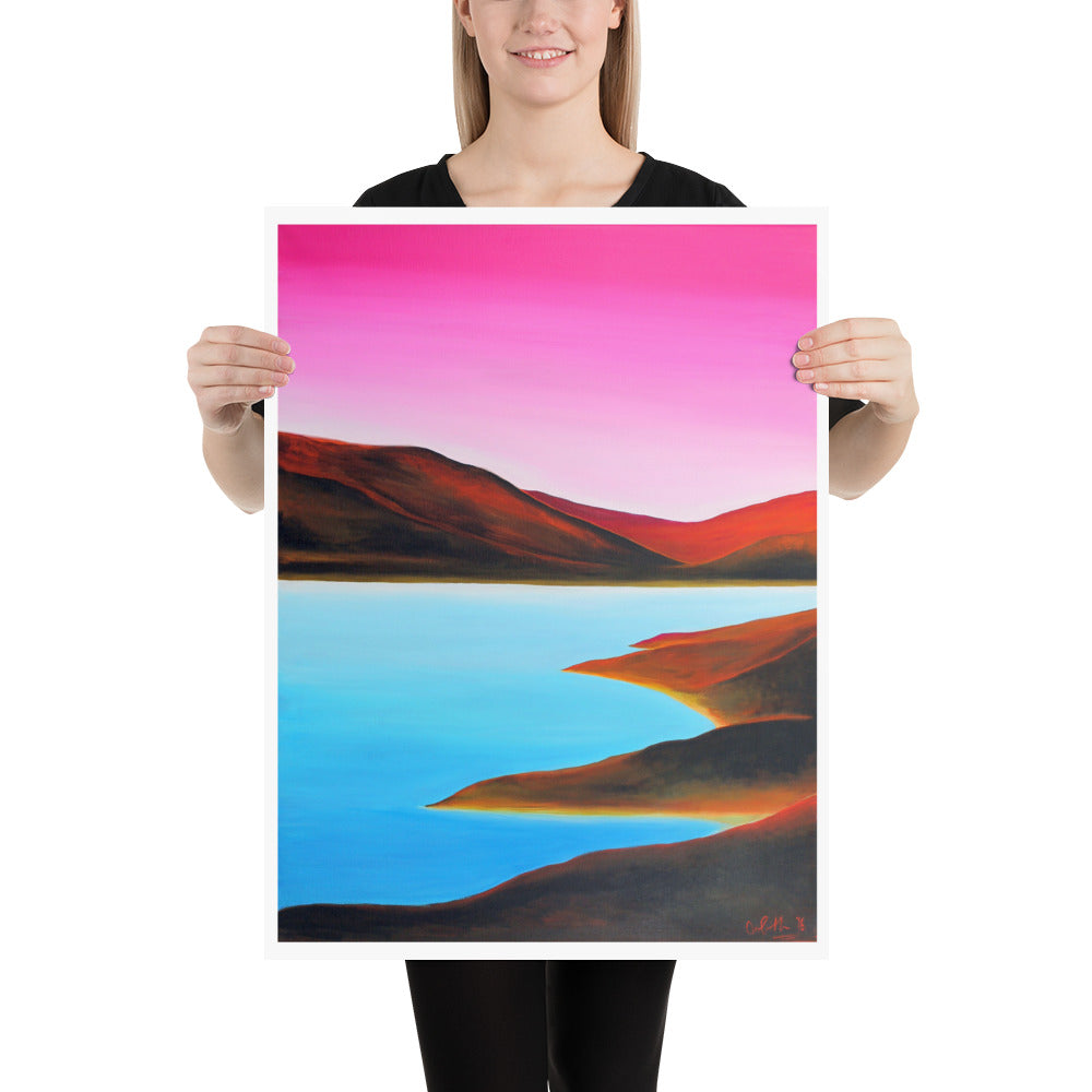 Conamara Art Print by Orfhlaith Egan | A Soft Day