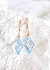 "Sky Blue Topaz Earrings ""Sky Blue Gorgeous"" - Handmade Jewelry - Renate Exclusive - 3"