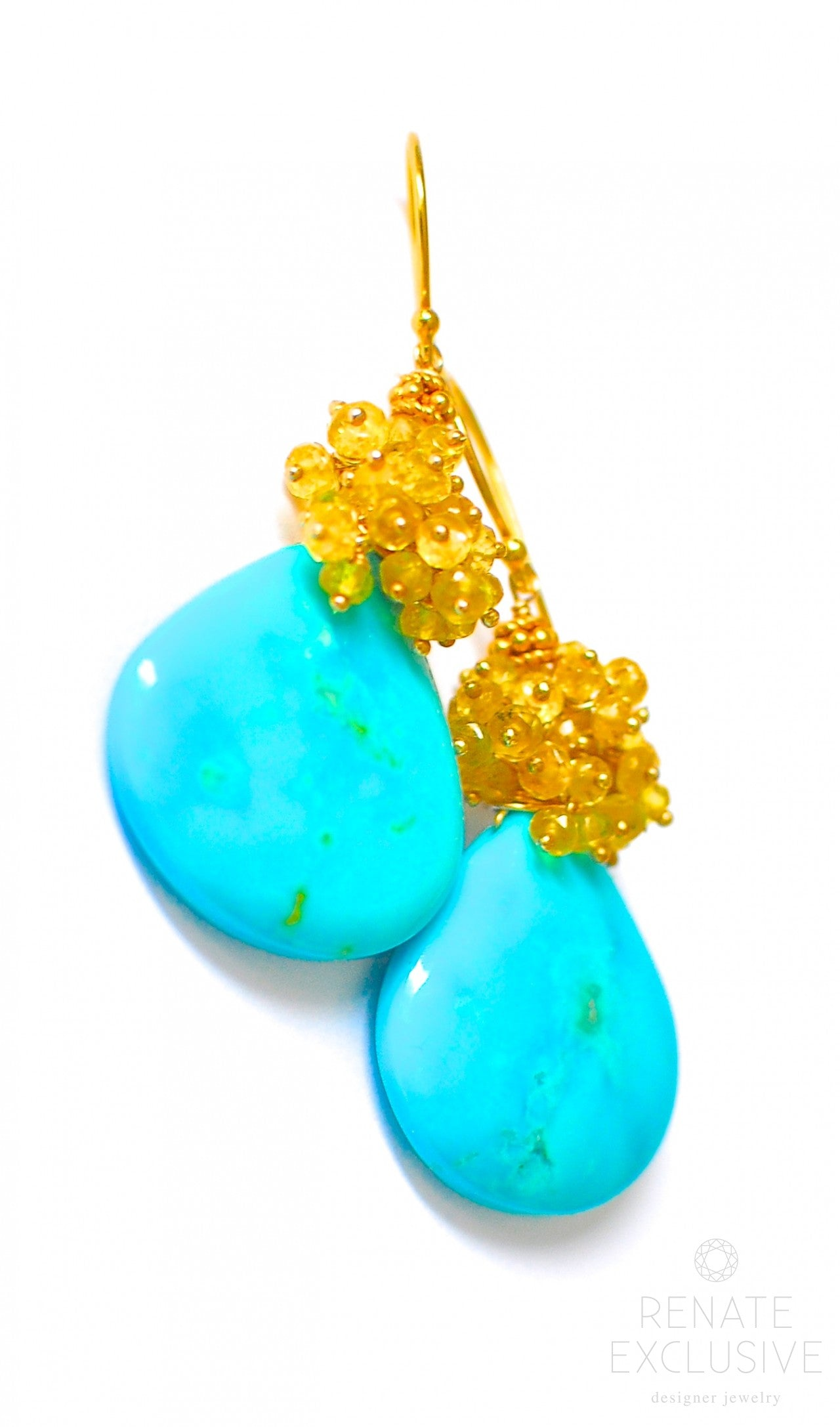sapphire with yellow copy gold diamonds product mirages in and earrings