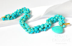 "Luxurious Mexican Nacozari Turquoise Bracelet ""Mexican Style""- PRE-ORDER!"