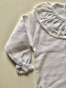 Long Sleeve body with embroidery details on collar