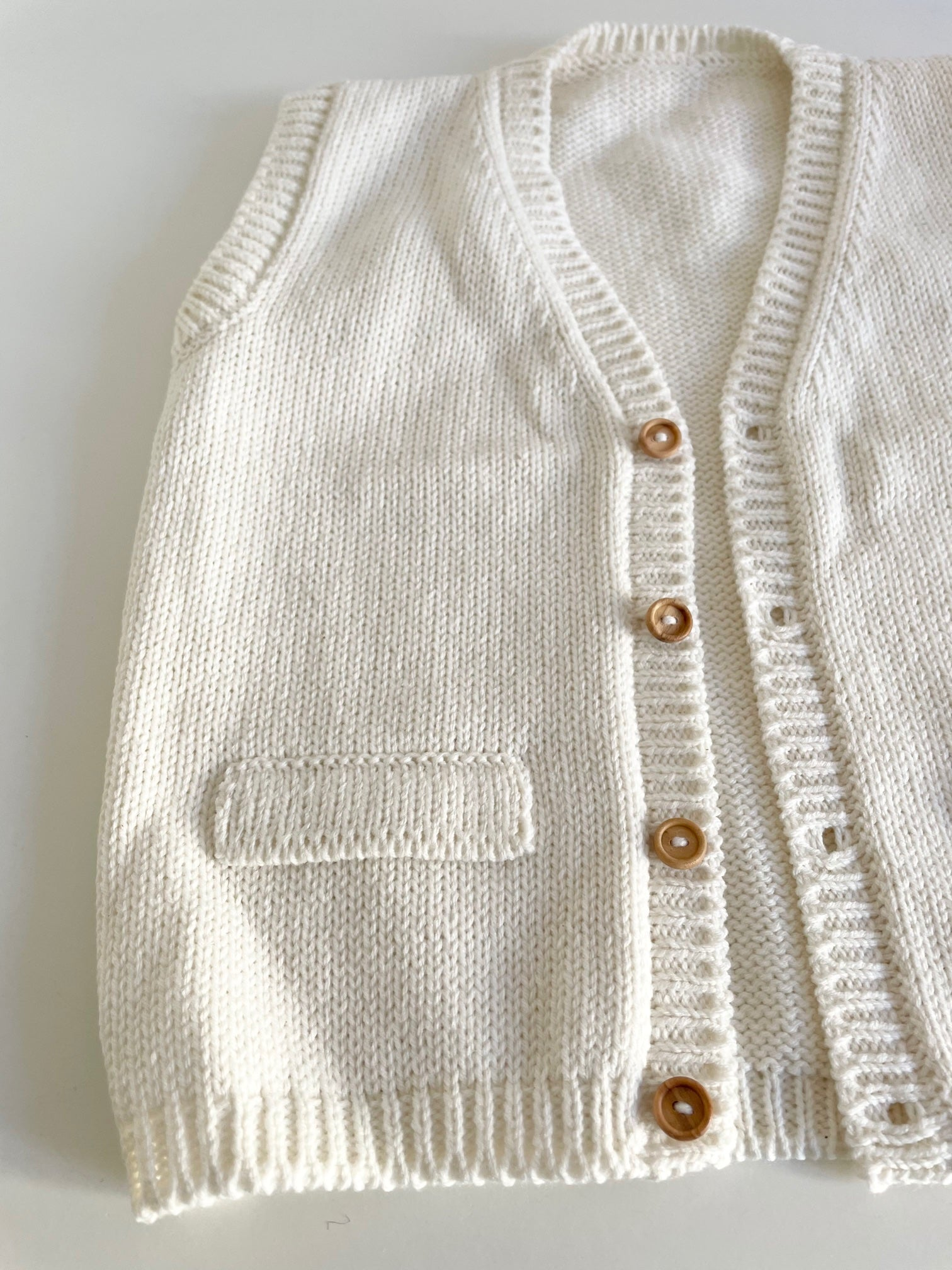 Knit vest - made by order