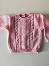 Load image into Gallery viewer, Spring/summer baby sweater - made by order