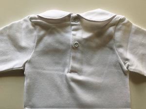 Long sleeve Peter Pan collar body