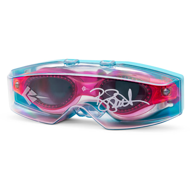 STINGRAY BROOKE BENNETT KID'S SWIMMING GOGGLES | PINK/SMK