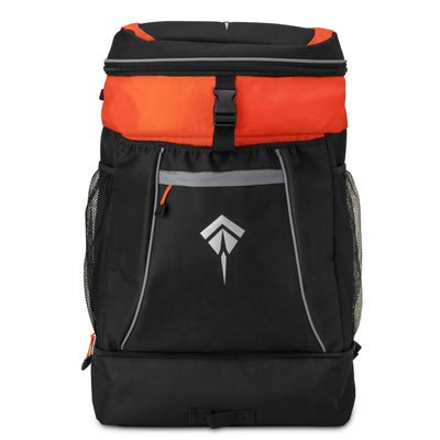 SPORTS BACKPACK | BLACK/ORANGE
