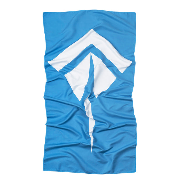 SPORTS TOWEL | BLUE/WHITE