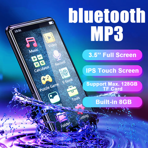 """3.5"""" IP Touch Screen, Supports up to 128 GB TF or SD card, 8 GB built-in memory"""