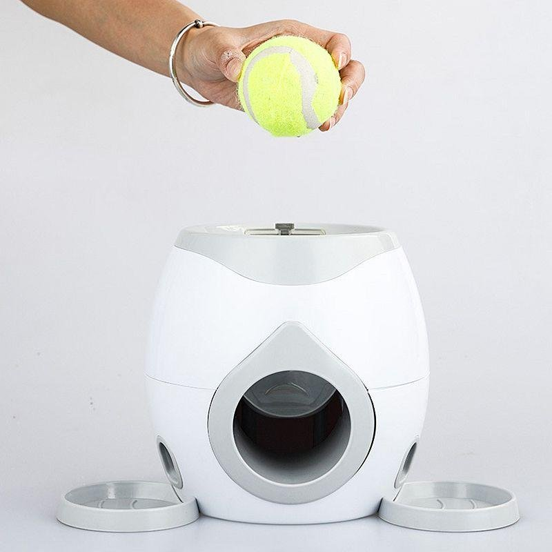 FriskyPet™ Tennis Ball Launcher Interactive Dog Toy - nonstop value shop