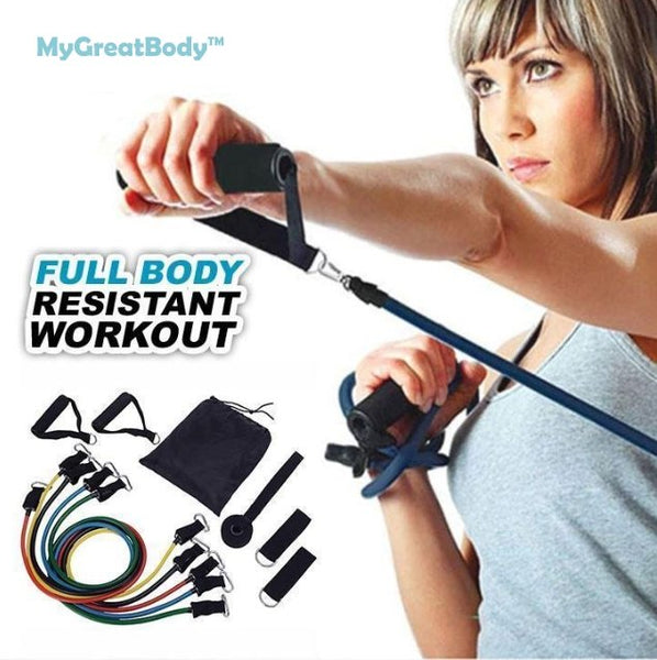 MyGreatBody™ Full Body Resistance Band Workout Set - nonstop value shop