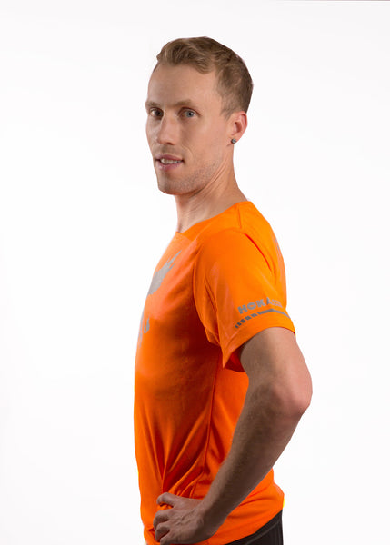 Men's Reflective - Short Sleeve Top