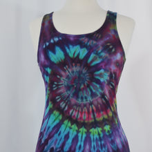 Load image into Gallery viewer, Favorite Tie Dye Tank Dress | Grape Spiral
