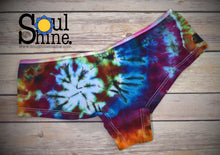 Load image into Gallery viewer, Tie Dye Panties CLASSIC SPIRAL