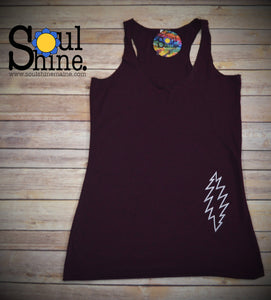 """Grateful Basics"" Ladies Tank Top AMETHYST"