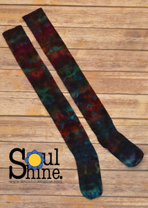 Tie Dye Thigh High | BOLD RAINBOW