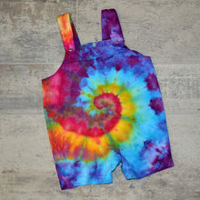 Load image into Gallery viewer, Tie Dye Baby Overall Rompers - 3 Colors to Choose!