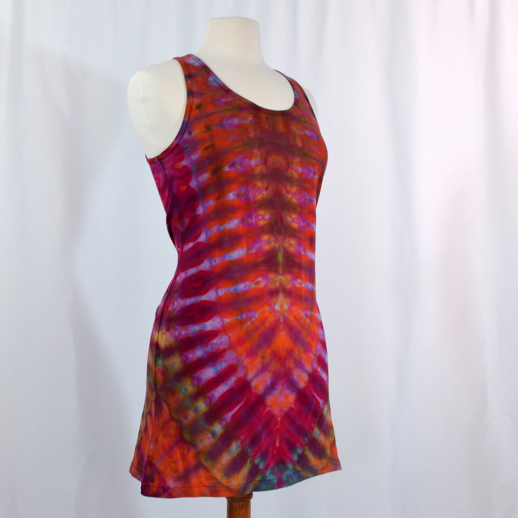 Favorite Tie Dye Tank Dress | Orange Crush