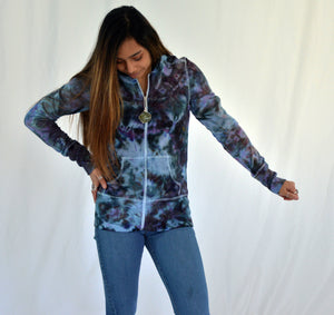 Long Cuff Hoodie | Exploding Heart