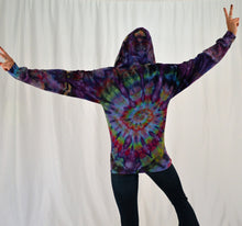 Load image into Gallery viewer, Hoodie | Purple Rainbow Swirl