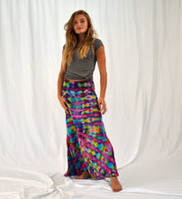 Load image into Gallery viewer, Original Wanderer Maxi Skirt | Violet Rainbow
