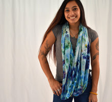 Load image into Gallery viewer, Organic Bamboo Infinity Scarf | Earth Ocean