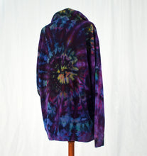 Load image into Gallery viewer, Pullover Hoodie | Purple Rainbow Swirl