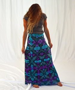 The Maxi | Mermaid Shibori