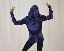 Load image into Gallery viewer, Ladies Tie Dye Hoodie | Lavender