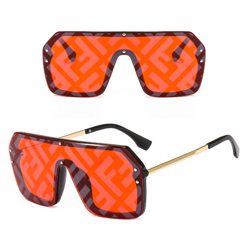 2020 Flat Top Square Sunglasses Fashion UV400 - PlusCenter.co.uk