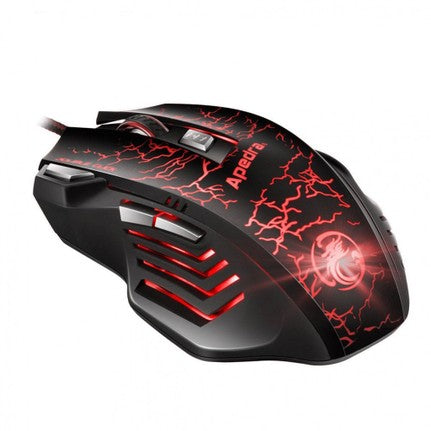 Gaming Mouse - A7 USB Optical Wired with RGB Backlit - PlusCenter.co.uk