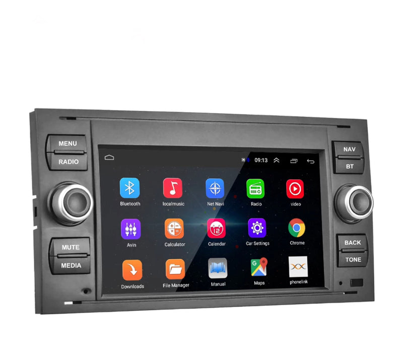 Ford Android 8.1 Car Stereo WIFI GPS SatNav Bluetooth USB Reverse Camera - PlusCenter.co.uk