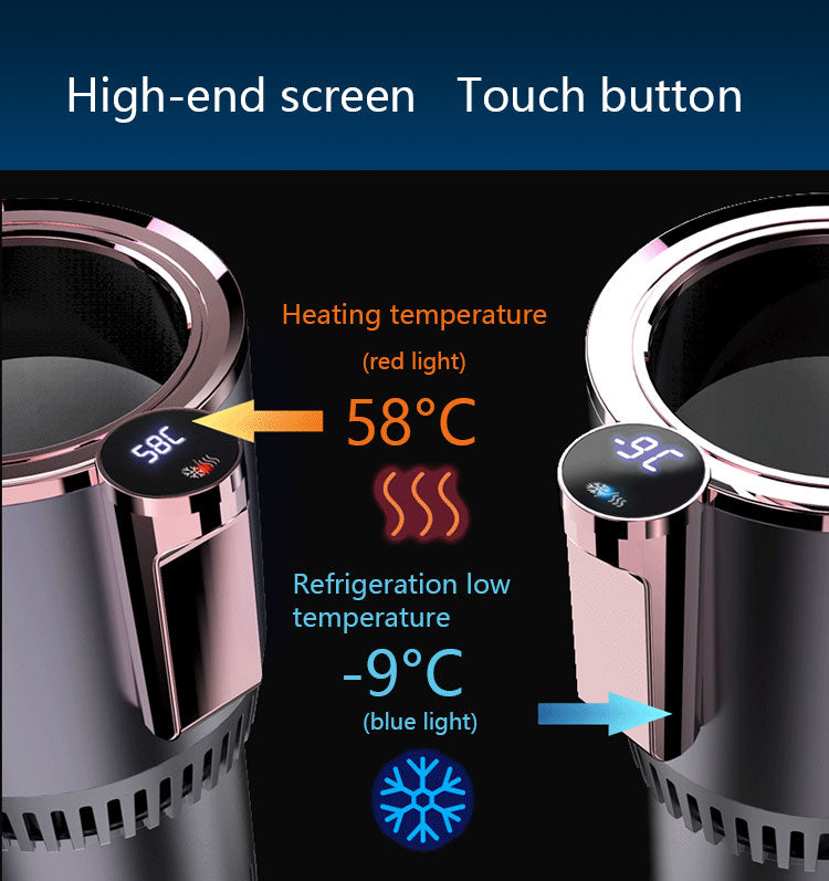 Auto Cooling and Heating Cup Holder - PlusCenter.co.uk