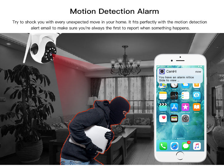 Home Camera 2020 - Night Vision WIFI CCTV System - PlusCenter.co.uk