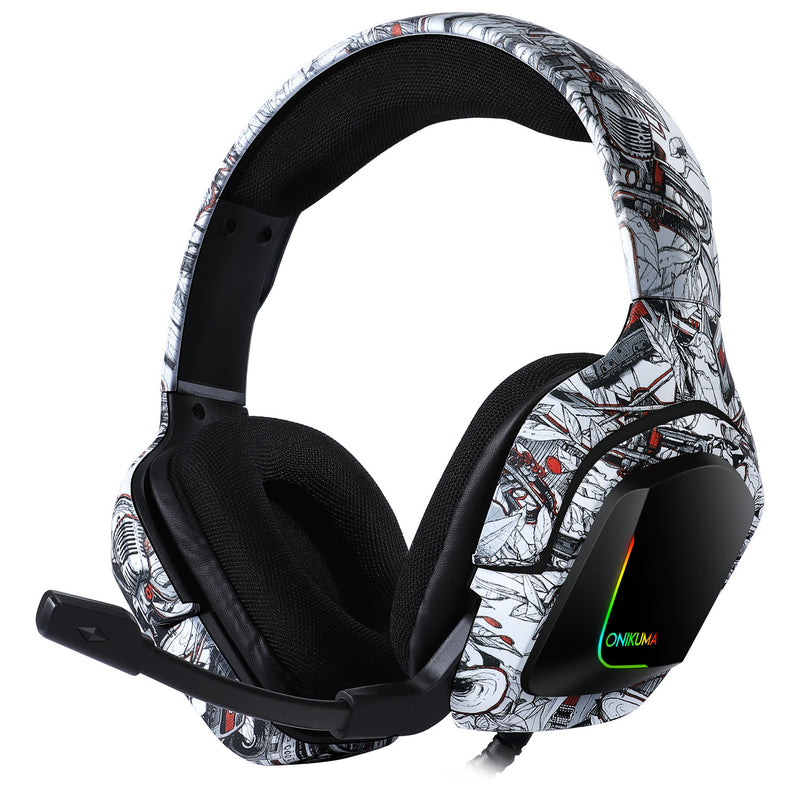Gaming Headset - K20 Army 3.5MM PC Xbox One PS4 - PlusCenter.co.uk