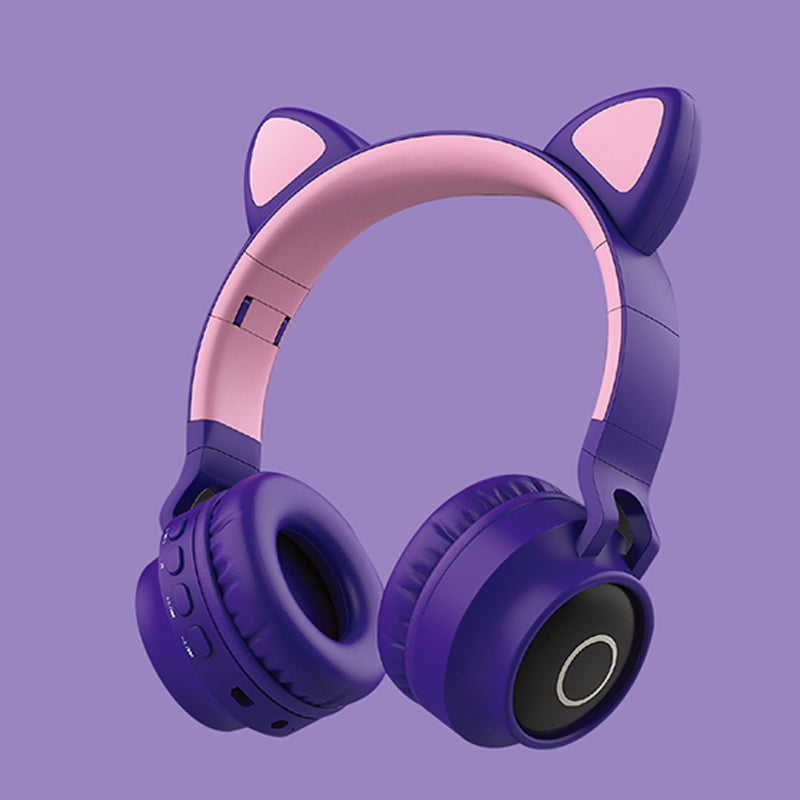 Cat LED Ear Wireless Headphones - PlusCenter.co.uk