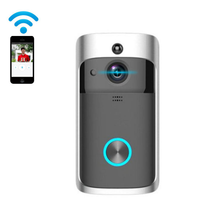 Smart Wireless Security Video Ring Doorbell Hidden Camera WiFi Mobile App - PlusCenter.co.uk