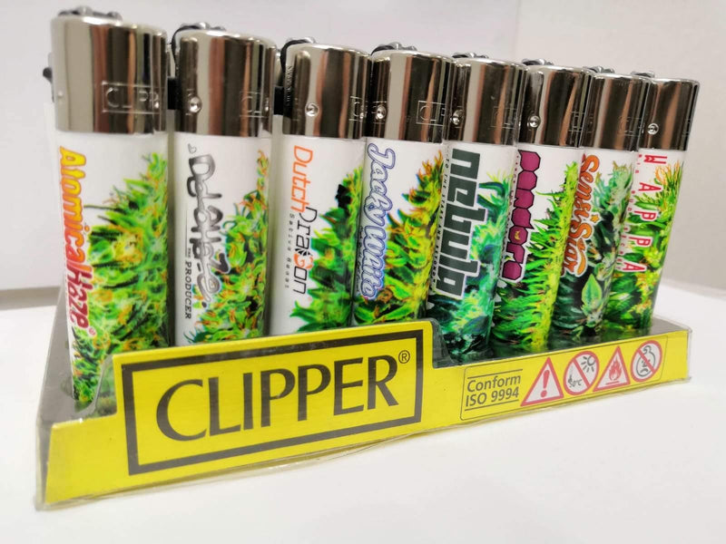Brands_Clipper, Clipper, Merchandising, Paradise Seeds, Parafernalia, Tipo_Accendini - doisgrowshop.it