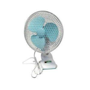 Pure Factory Ventilatore Clip Fan oscillante 18 cm 20 W