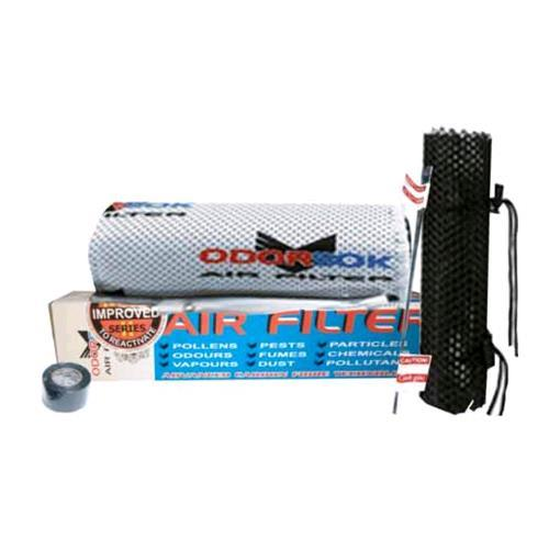 Odor Sok Filtro Odori  645 mc/h Flangia 150 mm