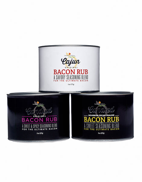 Bacon Rub Trio