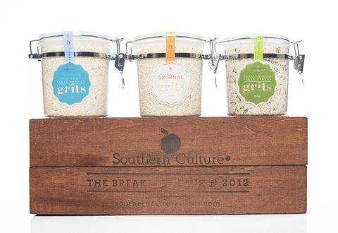 Southern Grits Trio ( Ships in late April)