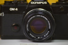 Load image into Gallery viewer, Olympus OM4 35mm Film Camera with Zuiko 50mm f1.8 Prime Lens